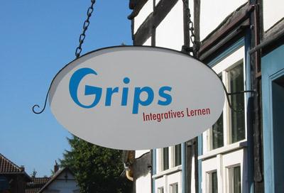 Grips Schild